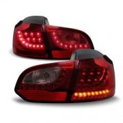Fari posteriori Golf VI 6 led urban style 08 - 12 dark red