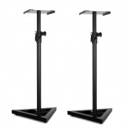 Auna Monitor Stand 5 - 2 x Soportes para altavoces negro (JO-Monitor-Stand-5)