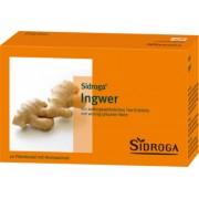 Sidroga Gesellschaft für Gesundheitsprodukte mbH SIDROGA Ingwer Tee Filterbeutel 20X0.75 g