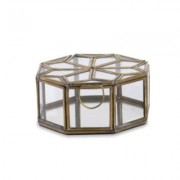 Nkuku - Bequai Small Antique Brass Star Pot - brass | gold - Gold/Gold