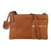 Burkely Schoudertas Craft Caily X-Over M Tan