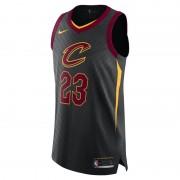 LeBron James Statement Edition Authentic (Cleveland Cavaliers) Nike NBA Connected Trikot für Herren - Schwarz