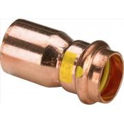 346560 - VIEGA Profipress G plyn nátrubok reduk. lisovací medený 2615.1 15x22 mm