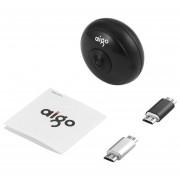 Aigo VR Mini Cámara Panorámica De 720 Grados De Doble Lente De Vídeo -Negro