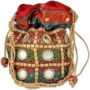 Motherland Gift Case Potli(Multicolor)