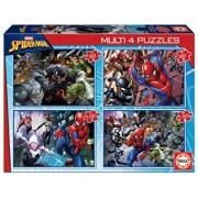 Puzzle multi Ultimate Spider-Man, 50-80-100-150 piese