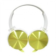 ha wired abs HWKC510 headphone Yellow