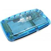 Card reader Gembird FD2-ALLIN1 USB2.0 albastru