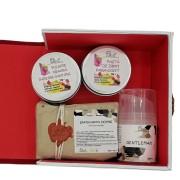 Set cadou produse naturale de ingrijire BARBATI-4 produse