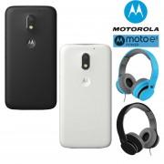 COMBO! Celular Motorola Moto E3 Power 16GB 2Gb Dual Sim + Audifonos