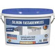 Vopsea pentru fatade pe baza de silicon, alba 2,5 l