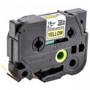 Консуматив Brother TZE-S641 Tape Black on Yellow Strong Adhesive 18mm, 8 m - Eco, TZES641