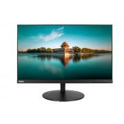 """Lenovo ThinkVision P24q 60.5 cm (23.8"""") WQHD WLED LCD Monitor - 16:9 - Black"""