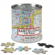 Puzzel City Puzzle Magnets Barcelona | Extragoods