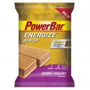 PowerBar Energize Wafer Sportvoeding met basisprijs beige/violet 2017 Sportvoeding