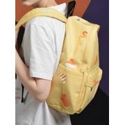 Senior High School Student Colorful Storage Backpack