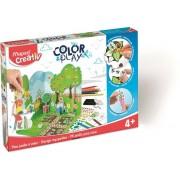 Kreatív készségfejlesztő készlet, MAPED CREATIV, Color and Play, kerttervező (IMAC907008)