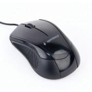Mouse, Gembird MUS-3B-02, USB, Black