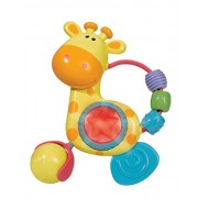 Simba Abc Light And Sound Giraffe Rattle, Multi Color