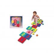 Dětská modulární hrací podložka - délka 30 cm, šířka 30 cm a výška 1,4 cm - 16 ks