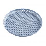 HAY Perforated Dienblad - M - Light Blue