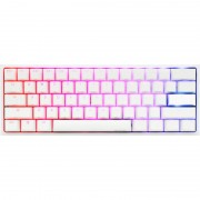 Tastatura gaming DUCKY One 2 mini Pure White RGB Cherry MX Brown Mecanica White
