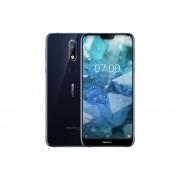 "Smartphone, NOKIA 7.1 TA-1095, DualSIM, 5.84"", Arm Octa (1.8G), 4GB RAM, 64GB Storage, Android, Blue"