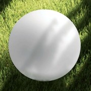 Large OH spherical light for outdoors, dia. 115 cm