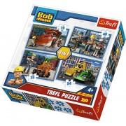 Puzzle Trefl - Bob The Builder, 35/48/54/70 piese (58169)
