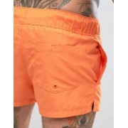 ASOS Swim Short In Orange In Super Short Length - Orange