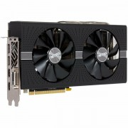 SAPPHIRE Video Card AMD Radeon NITRO RX 580 8G GDDR5 DUAL HDMI / DVI-D / DUAL DP W/BP UEFI SPECIAL EDITION 11265-21-20G
