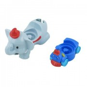 Fisher Price Little People Magic of Disney - Day At Disney - Replacement Parts - Elephant Ride and Train