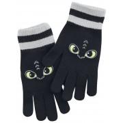 Drachenzähmen leicht gemacht Eyes Fingerhandschuhe-schwarz grau - Offizieller & Lizenzierter Fanartikel one size Damen