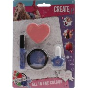 Create It! All In One Make-up Set 4-delig Paars