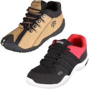 Vintex Trigger 1 Rockland 1 Combo shoes for Men