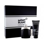 Mont Blanc Legend 100ml Apă De Toaletă + 100ml After Shave Balsam + 7.5ml Apă De Toaletă Set
