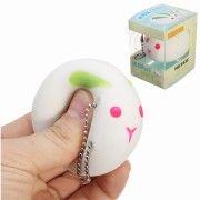 IKUURANI Rabbit Squeeze Squishy Toy Slow Rising Gift With Original Packing