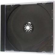 Medii de stocare noname Caseta 1 buc. CD-uri, negru, subtire, 5.2mm