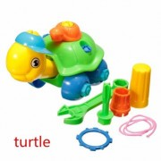 Puzzle Building Toys Develop Learning Fun Tools NEW EDS Build A Train Kids Toy (Style 6)