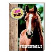 Paarden vriendschapsboekje