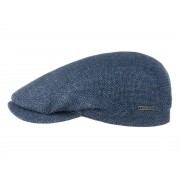 Stetson Belfast Flatcap in Leinenmischung, Jeans (23) 61 cm