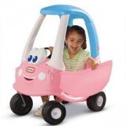 Детска кола за каране и бутане - Светлорозова, Little Tikes, 320119