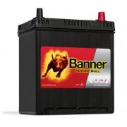 Banner Power Bull P4025 jobb pozitív 40Ah / 330A akkumulátor