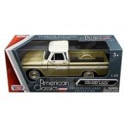 Motor Max 1:24 W/B American Classics 1966 Chevrolet C10 Fleetside Pickup Diecast Vehicle