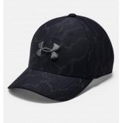 Under Armour Boys' UA Printed Blitzing 3.0 Cap Black XS/S
