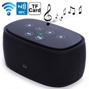 Mini NFC Bluetooth 3D Incredible Smart Speaker with MP3 Function Support Hands-free Call / TF Card(Black)