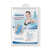 Impermeáveis para gesso meia perna 1 unidade criança - Aquastop