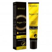 Crema-ser pentru maini si unghii cu ulei de argan REVUELE Cell Regeneration, Oxygen Infusion, 50 ml