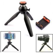 Click to open expanded view Yunteng YunTeng YT-228 Mini Tripod Mount + Phone Holder Clip Desktop Self-Tripod for Mobile