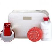 Bvlgari Omnia Coral coffret V. Eau de Toilette 65 ml + leite corporal 75 ml + sabonete 75 g + bolsa de cosméticos 1 ks